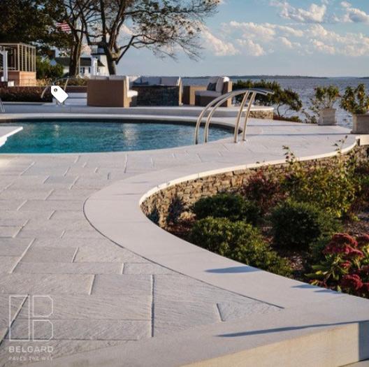 J & J Material Backyard Pool & Patio