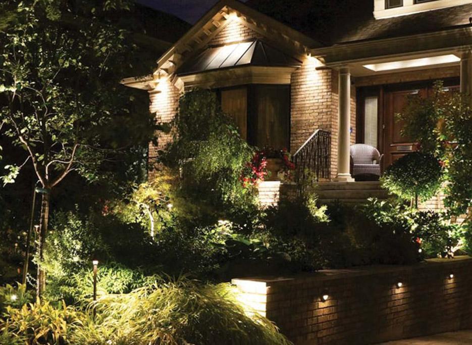 J&J Materials Lighting Garden and Patio