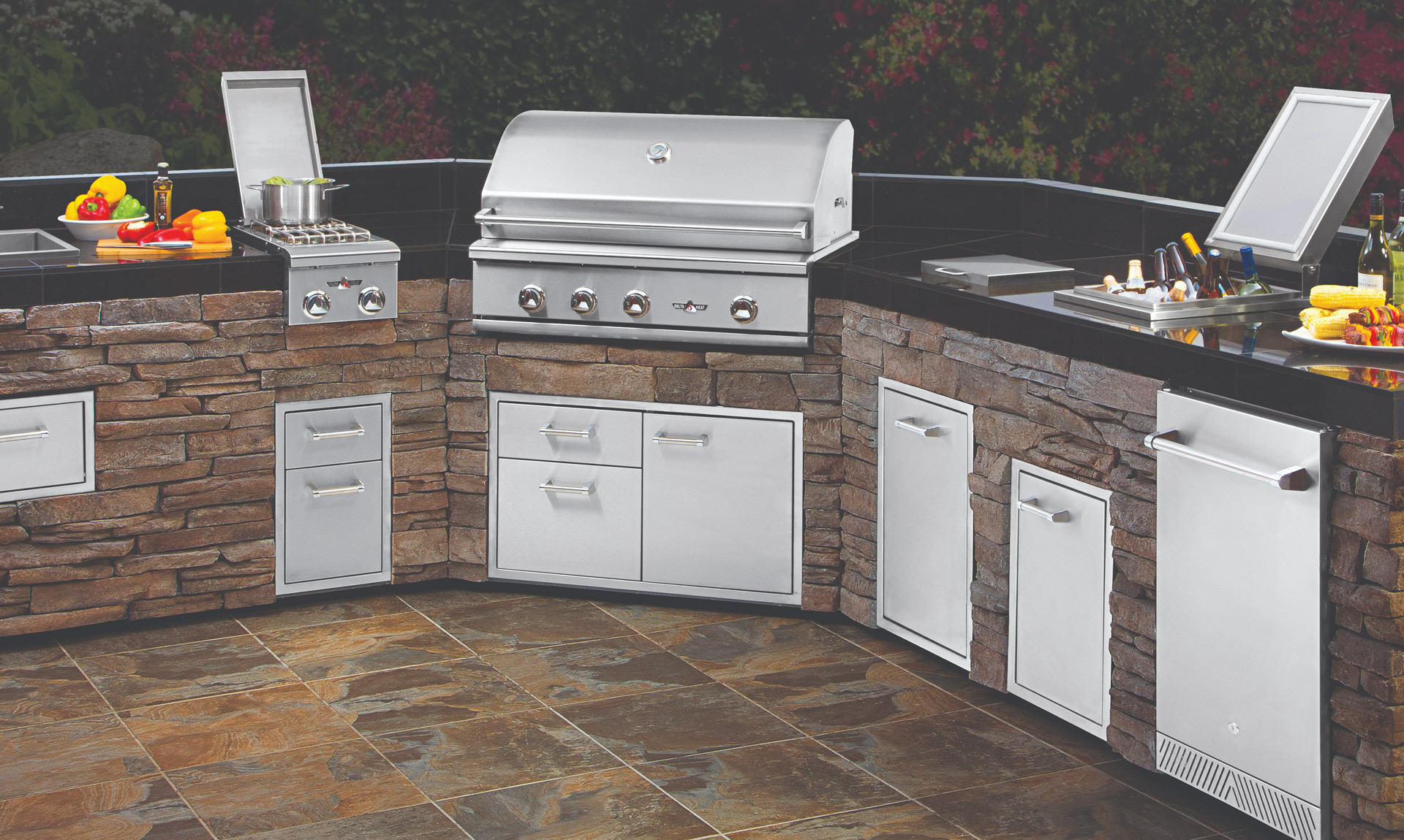 Twin Eagle Grills Outdoor kitchens by J&J Materials