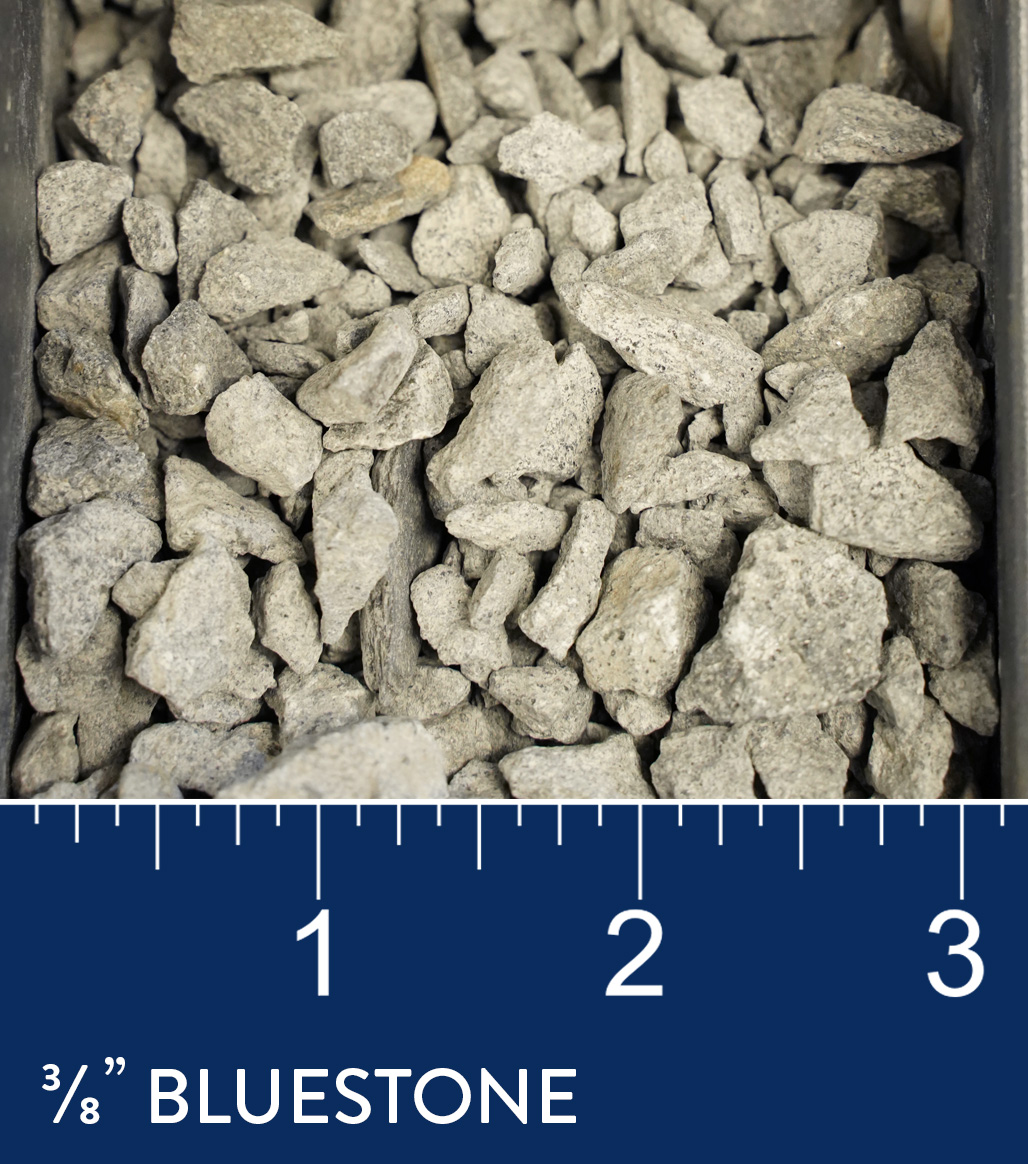 "3/8"" Bluestone available at J&J Materials"