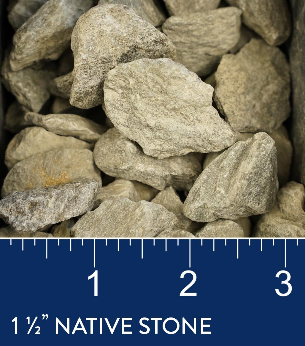 "1 1/2"" Native Stone available at J&J Materials"