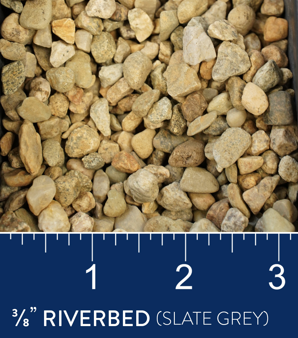 "3/8"" Riverbed available at J&J Materials"